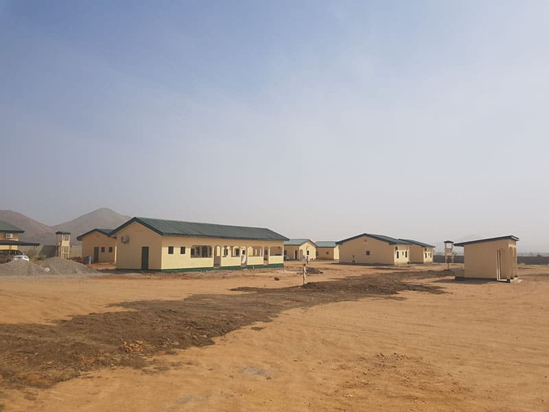 Construction Area, Garoua / Cameroon